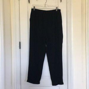 cropped dress pants